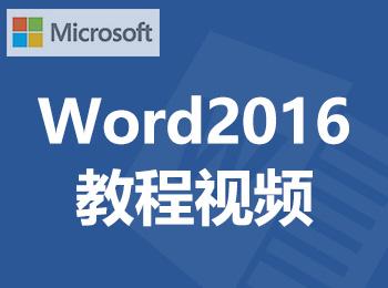 Word2016教程视频_软件自学网