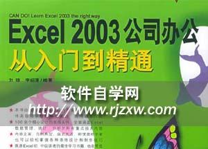 Excel 2003从入门到精通视频教程_软件自学网