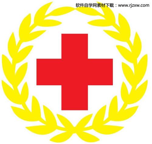 红十字会会徽矢量图标志