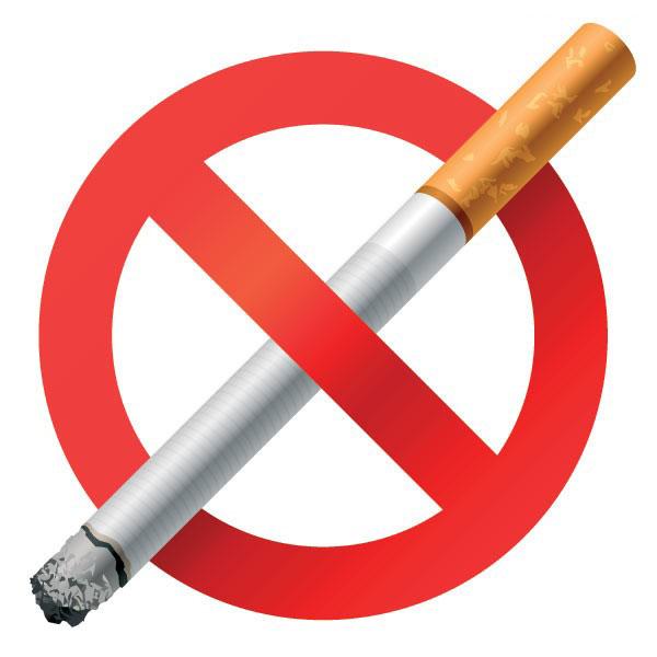 禁止吸烟标志矢量图素材下载 - 软件自学网