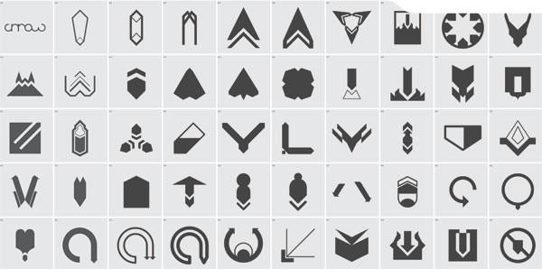 eps格式的矢量箭头素材集免费素材下载
