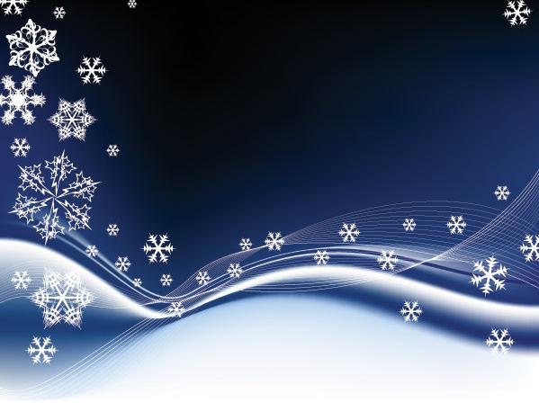 两款雪花时尚元素背景素材矢量图免费素材下载