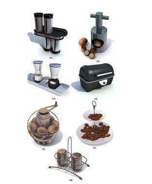 厨房用具3dmax模型免费素材下载