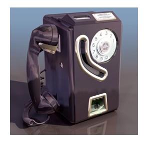 旧式电话机3dmax模型免费素材下载高清图片