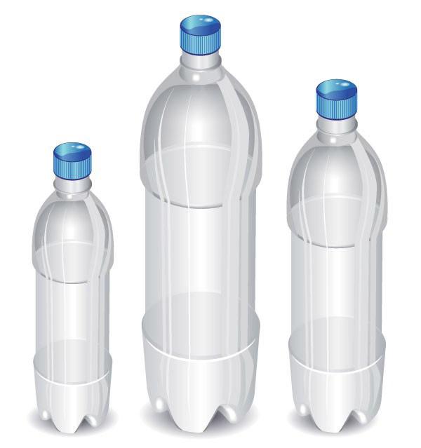 可乐饮料瓶矢量素材下载
