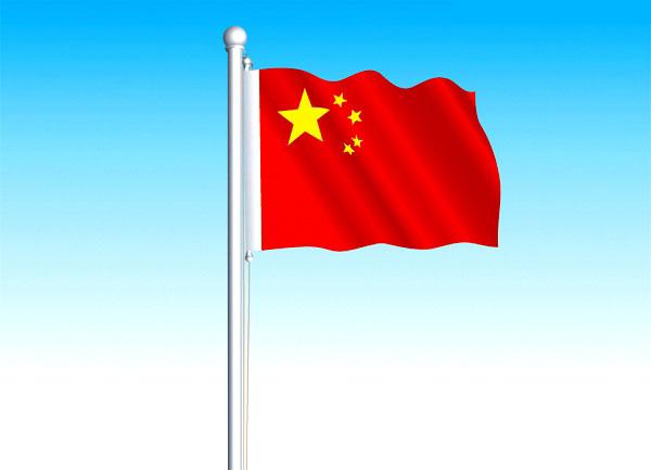 简笔画大全中国国旗 简笔画中国国旗图片简笔画