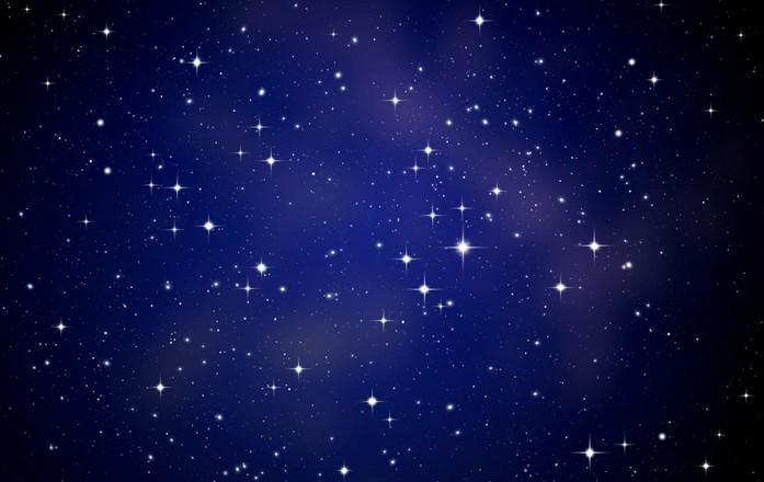 夜空图,北斗七星夜空图,中秋之夜,皓月当空,长期飘泊海外的高清图片