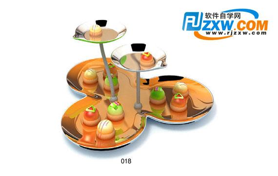 餐具3dmax模型免费素材下载高清图片