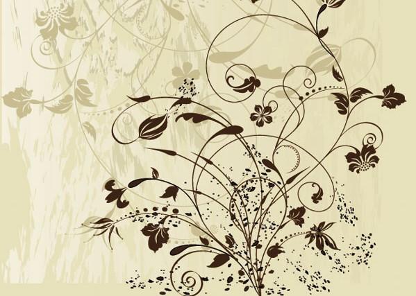 韩国古典花纹