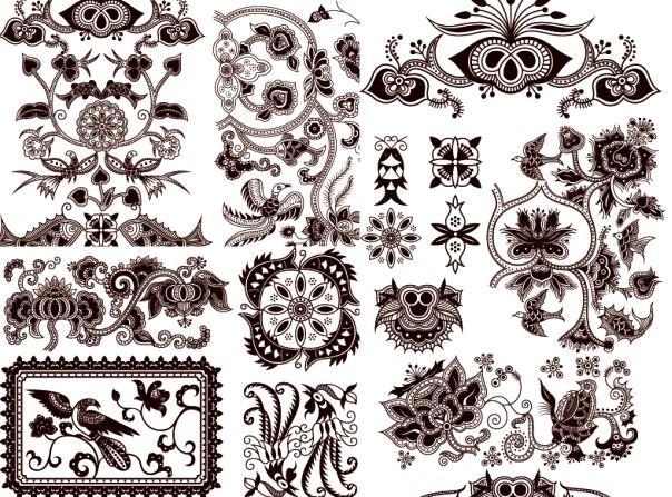 中国古典传统花纹