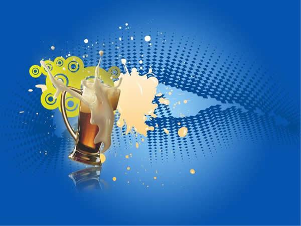 原创啤酒文化节活动策划ppt模板免费素材下载
