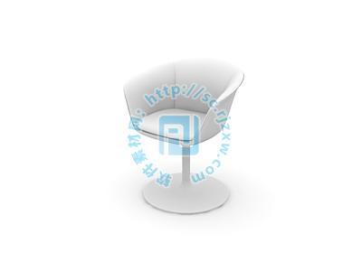 原创咖啡厅座椅3d模型免费素材下载