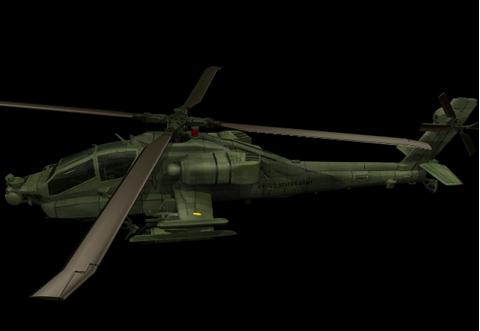 3dmax军用直升飞机玩具模型