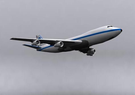 民航飞机3dmax玩具模型