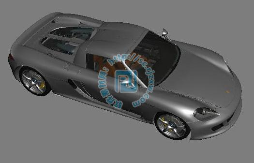 3DMAX制作保时捷跑车模型