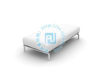 原创3dmax座椅床模型免费素材下载