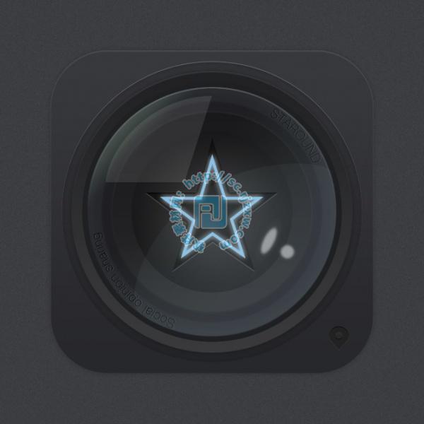 原创psd星星镜头图标素材免费素材下载