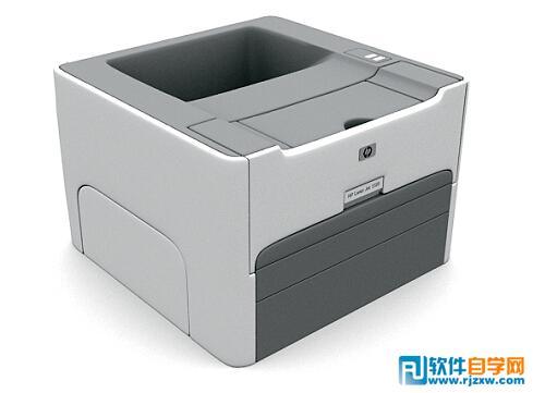 惠普打印复印一体机3d模型免费素材下载