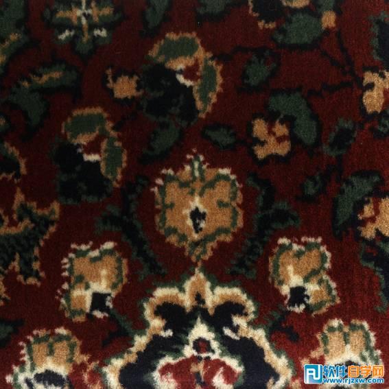 美式花纹花毯贴图材质0028免费素材下载