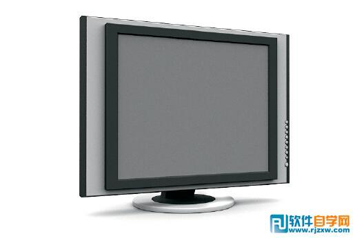 平板电脑显示器3d模型免费素材下载