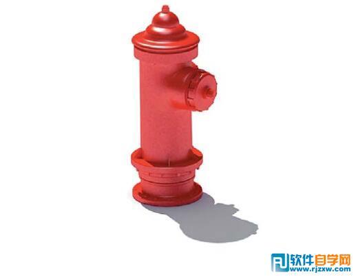 工业园区消防栓3DMAX模型免费素材下载 - 软