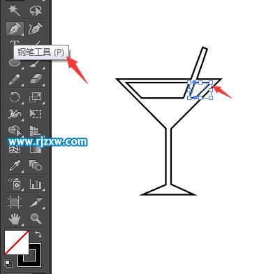 怎么用ai画出饮料水杯简笔画呢?