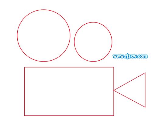 录像机简易图标的设计教程