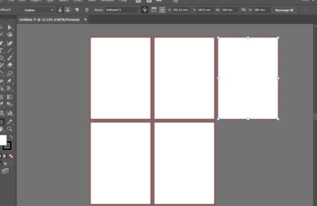 ai怎么建立画板设计说明书