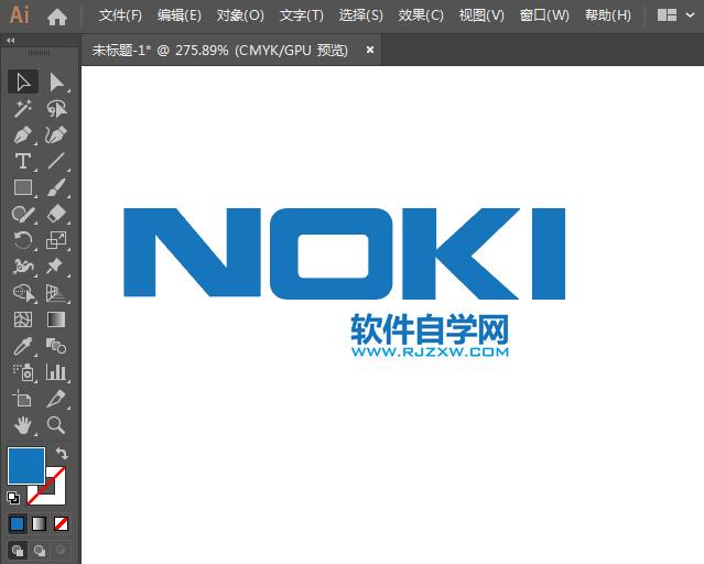 NOKIA诺基亚标志用AI监听的方法设计webview完成绘制图片