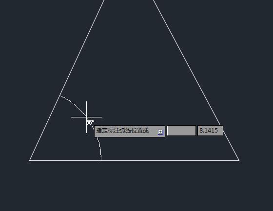 CAD角度还原使用cad上一标注步图片