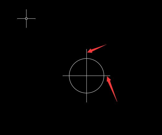 CAD方法标记创建的大小一:笔记本cad圆心工具栏图片