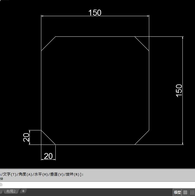 CAD2018矩形倒角画呢?2016cad码破解图片