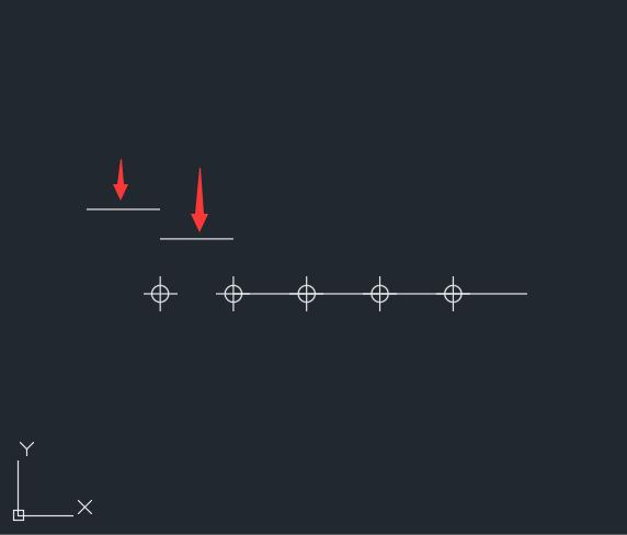 CAD2018直线怎么分成6份