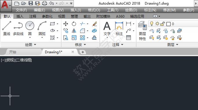 CAD怎么将功能区图标调整为标准大小的方法_软件自学网