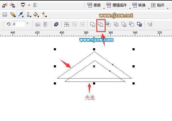 CDR绘制房子图标实例教程_软件自学网