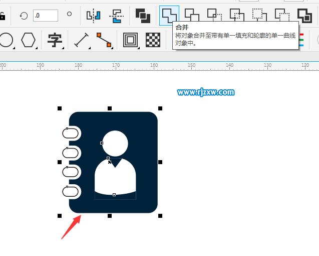 cdr制作用户通讯录图标教程 ps教程 - 软件自学网