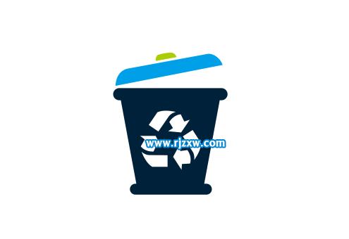 回收图标垃圾桶怎么画出来