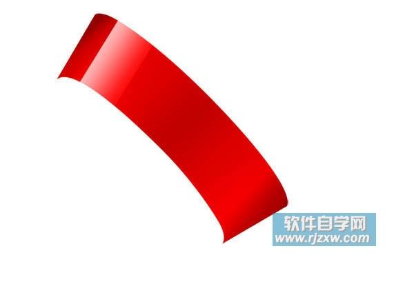 photoshop制作红色艳丽的漂亮彩带