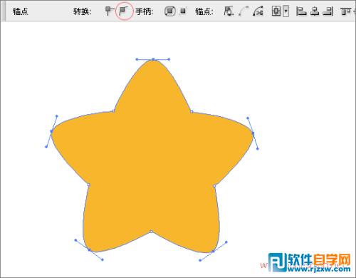 这里只是教大家怎么做胖胖的小星星,而引导图的那个图案是ai cs3图片