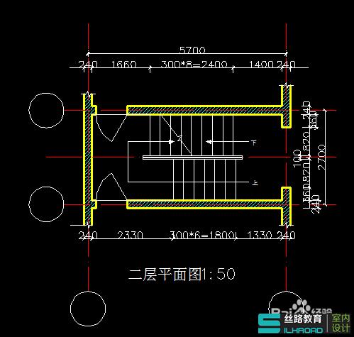 么用CAD设计楼梯的三维图讲解