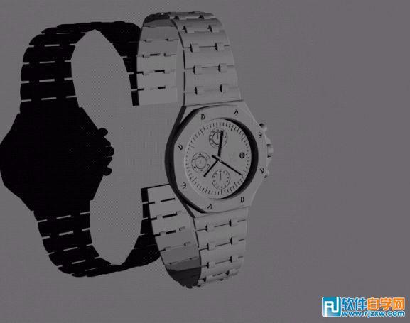 用3Dmax制作手表建模效果教程 - 6 - 软件自学网