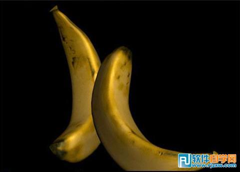 3dsmax制作逼真香蕉效果