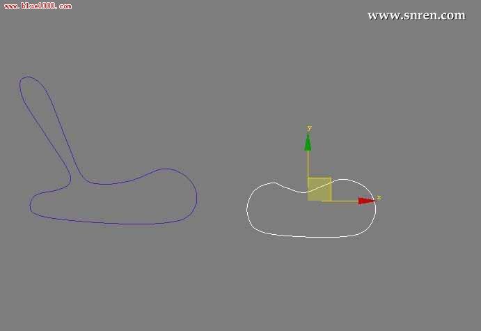 3dmax怎么放样 做摇椅_软件自学网