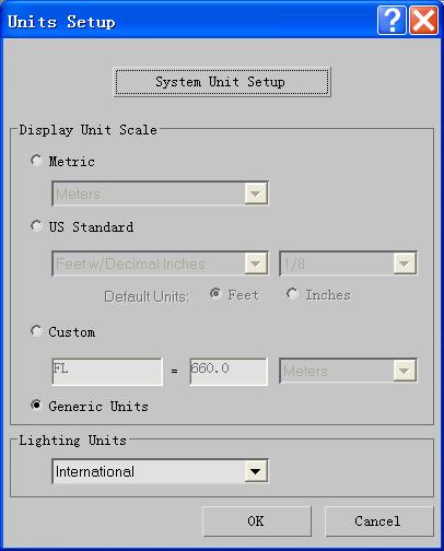 3D单位(Units)介绍_软件自学网