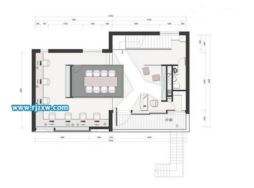 CAD与3DMAX一起设计的室内作品欣赏_软件自学网