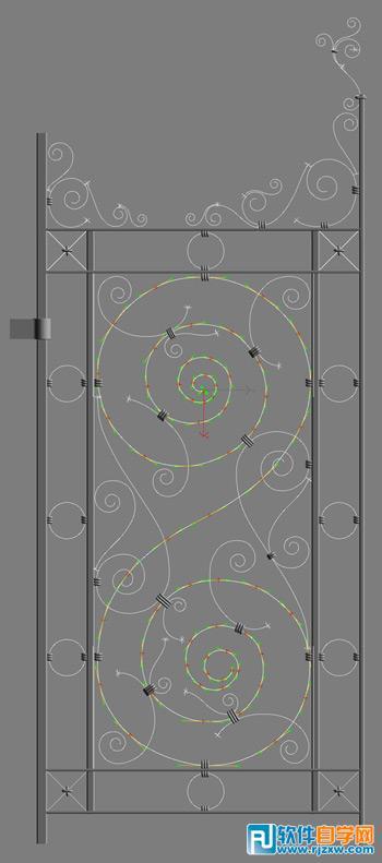 3DsMAX打造神秘的闹鬼通道详细教程_软件自学网