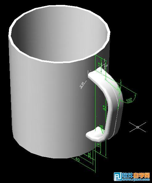 立体杯子怎么画步骤