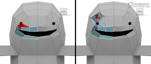 3d打印小怪物笔筒_软件自学网