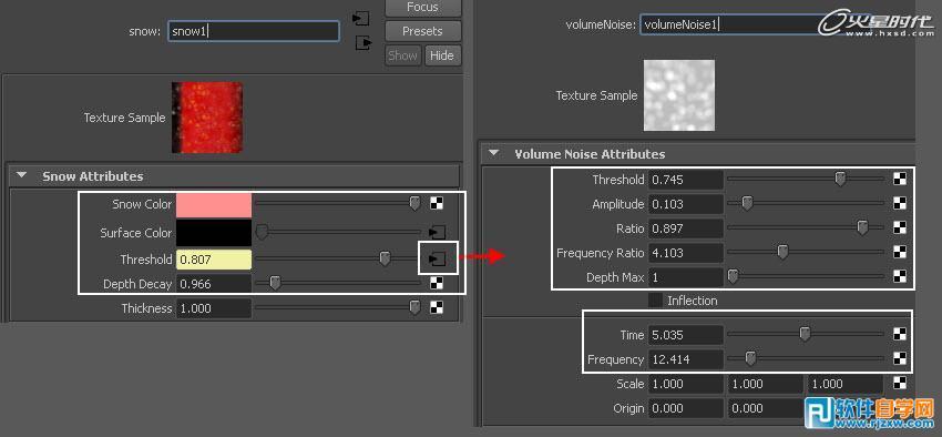 MAYA制作山楂材质纹理_软件自学网