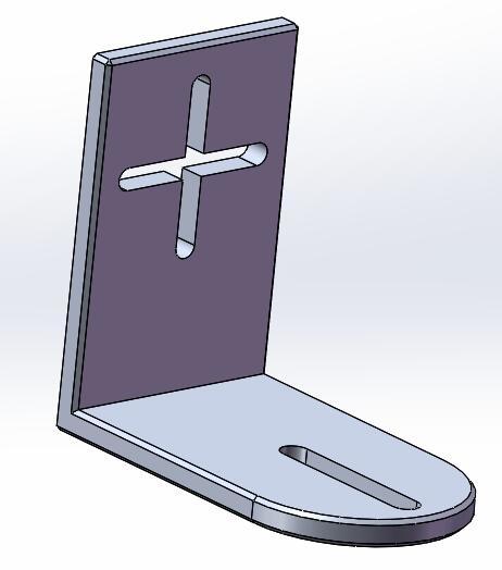 solidworks金属锁紧扣的绘制方法